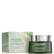 Купить Минеральный дневной крем для лица с солнцезащитным фактором SPF15 и эффектом сияния AHAVA Mineral Radiance Day Cream SPF15 50мл