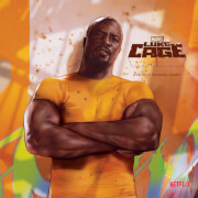Vinyle Luke Cage Marvel - Exclusivité Zavvi 18 cm