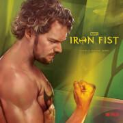 Vinyle Iron Fist Marvel - Exclusivité Zavvi 18 cm