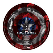 Marvel Captain America OST - Limited Edition Picture Disc Vinyl LP