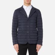 Herno Men's Padded Blazer Jacket - Deep Blue - L/IT 52 - Blue