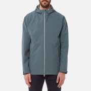 Herno Men's Plaster Hooded Jacket - Petrol - L/IT 52 - Blue