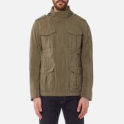 Herno Men's Lightweight Field Jacket - Olive - L/IT 52 - Green