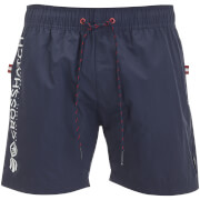 Crosshatch Men's Kavana Swim Shorts - Night Sky