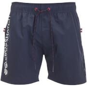 Crosshatch Men's Kavana Swim Shorts - Night Sky