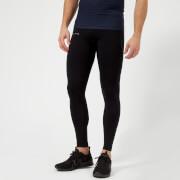 FALKE Ergonomic Sport System Men's Long Compression Tights - Black - L - Black