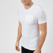 FALKE Ergonomic Sport System Men's Short Sleeve Pocket T-Shirt - White - L - White