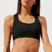 FALKE Ergonomic Sport System Women's Madison Sports Bra - Low Support - Black - L - Black