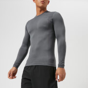 FALKE Ergonomic Sport System Men's Long Sleeve Top - Concrete - L - Grey