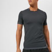 FALKE Ergonomic Sport System Men's Fitness Short Sleeve T-Shirt - Concrete - L - Grey