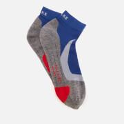 FALKE Ergonomic Sport System Men's RU4 Cushion Running Short Socks - Athletic Blue - 46-48 (UK 11-12) - Blue