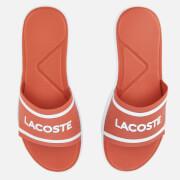 Lacoste Women's L.30 118 1 Slide Sandals - Pink/White