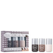 Le Mini Macaron Les Minis Gel Polish Trio - Coffee Shop