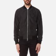 Versace Collection Men's Zipped Blouson Jacket - Nero - 46/S - Black