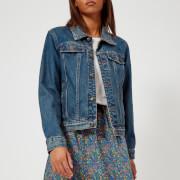 A.P.C. Women's Cherry Denim Jacket - Indigo Delave - FR 36/UK 8 - Blue