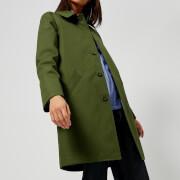 A.P.C. Women's Belleville Mac - Olive - FR 38/UK 10 - Green