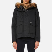 Woolrich Women's Military Eskimo Coat - Black - L - Black