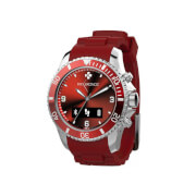 MyKronoz Zeclock Bluetooth Smart Watch - Red
