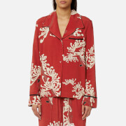 McQ Alexander McQueen Women's Lounge Shirt - Amp Red - IT 44/UK 12 - Red