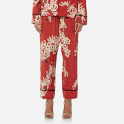 McQ Alexander McQueen Women's Piping Pin Track Trousers - Amp Red - IT 44/UK 12 - Red