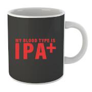 Beershield My Blood Type Mug