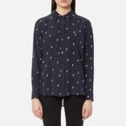 Rails Women's Kate Shirt - Navy Lightning - L - Navy