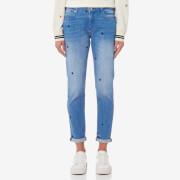 Maison Scotch Women's Petit Ami Star Jeans - Indigo Star