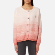 Maison Scotch Women's Chunky Gradient Effect Cardigan - Pink