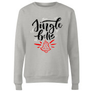 jingle Bells Frauen Sweatshirt - Grau