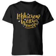 Click to view product details and reviews for International Lebkiuchen Kids T Shirt Black 3 4 Years Black.