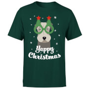 Image of Yappy Christmas T-Shirt - Forest Green - S - Forest Green