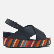 Paul Smith Women's Noe Swirl Flatform Sandals - Black