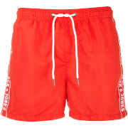 Jack & Jones Men's Originals Jack 467 Logo Swimshorts - Fiery Coral