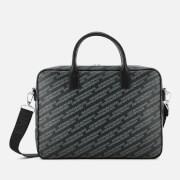 Emporio Armani Men's Big Briefcase - Lavagna/Nero
