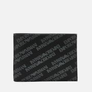 Emporio Armani Men's Bi-Fold Credit Card Wallet - Lavagna/Nero