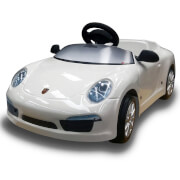 Porsche 911 Pedal Power Car - White