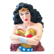 DC Comics Wonder Woman Bust Bank