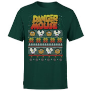 Danger Mouse Christmas T-Shirt - Green