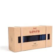 Levi's Men's 3 Pack Sock Gift Box - Blue