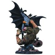 DC Statue Batman vs Killer Croc