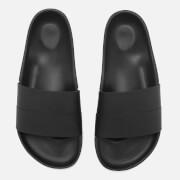 Hunter Men's Original Moustache Slide Sandals - Black/Dark Slate