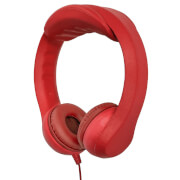 iTek Childrens Highly Flexible Headphones - Red
