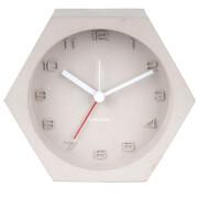 Karlsson Hexagon Concrete Alarm Clock