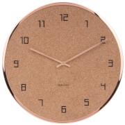 Horloge Murale Liège et Cuivre Modest - Karlsson