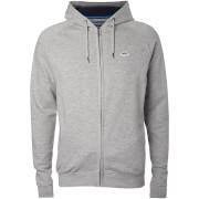 Le Shark Men's Lombard Zip Through Hoody - Light Grey Marl