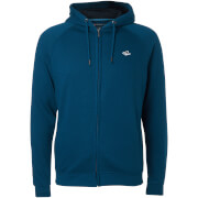Le Shark Men's Lombard Zip Through Hoody - Teal Blue