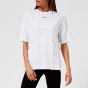 MSGM Women's Logo T-Shirt - White - L - White