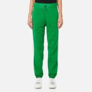 MSGM Women's Trousers - Green - M - Green