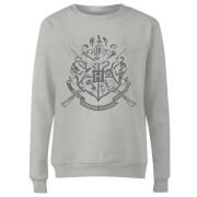 Harry Potter Draco Dormiens Nunquam Titillandus Women's Grey Sweatshirt