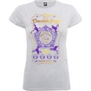 Harry Potter Honeydukes Purple Chocolate Frogs Women's Grey T-Shirt